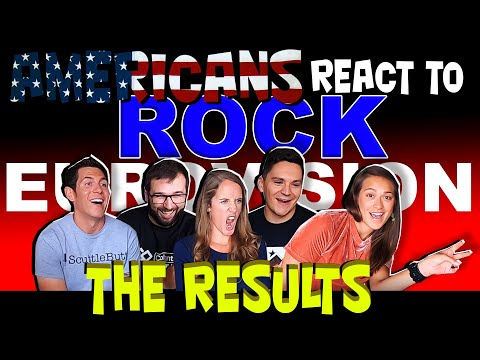 Americans React To Eurovision Rock Contest: THE VOTING RESULTS