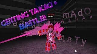 Roblox Ro-Ghoul | Getting TakiK1 + BATTLE