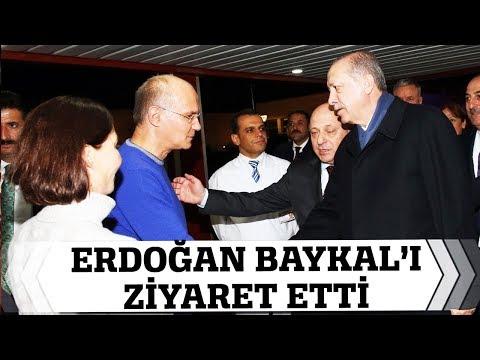 Cumhurbaşkanı Erdoğan, Deniz Baykal'ı Hastanede Ziyaret Etti