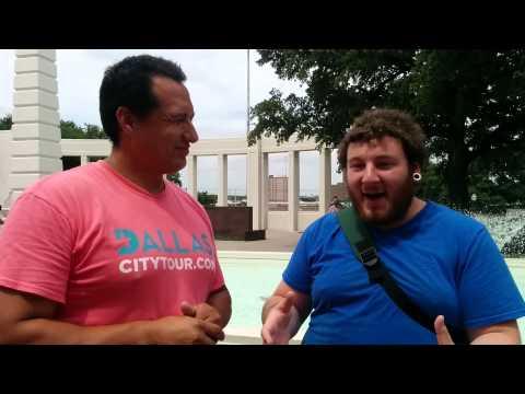 Dallas Tourist enjoys tour of JFK assassination downtown dallas  , 214-310-0700