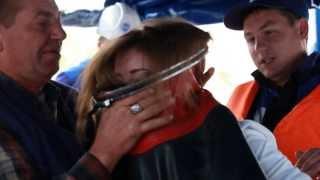 NEWSROOM24: Журналисты примерили на себя экипировку водолазов ОАО