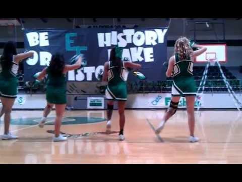 Eldorado High School Cheerleaders 2012
