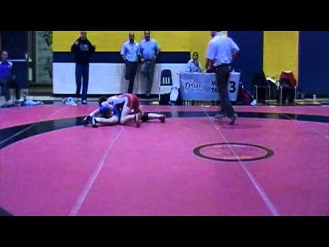 2013 Ontario Senior Championships: 48 kg Madison Parks vs. Regina Martinez