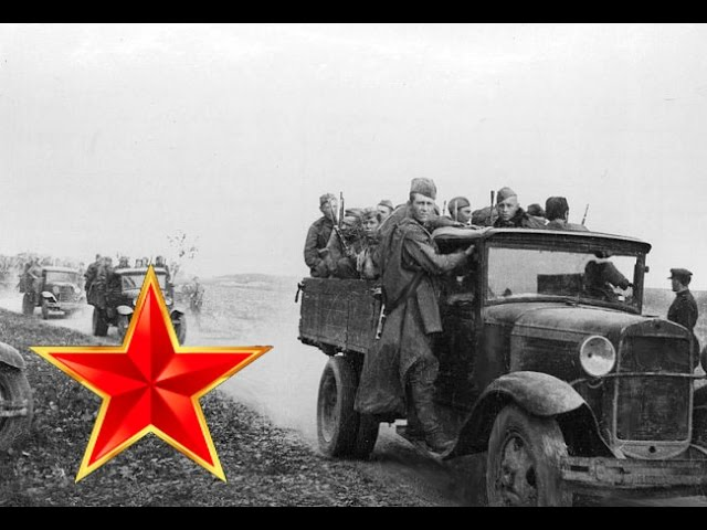 Песенка фронтового шофера – Песни военных лет – Лучшие фото – Эх путь-дорожка фронтовая