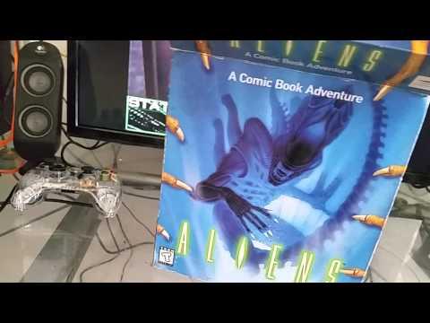 Aliens A Comic Book Adventure PC retro Review PC BOX
