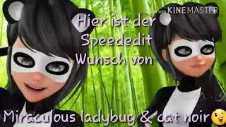 Speededit für Miraculous laeybug & cat noir😉😁😚|Mmyy Mmyy