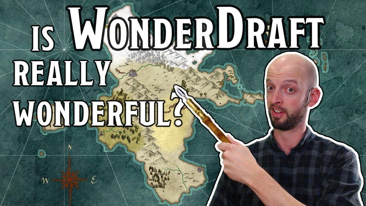 Wonderdraft - Inkarnate Killer? (map-making app review)