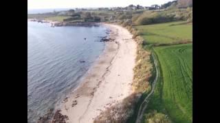 Vidéo de drone dans la baie de Morlaix, a Térénez !