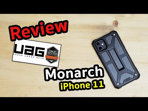 Review Case UAG Monarch For IPhone 11 #รีวิว