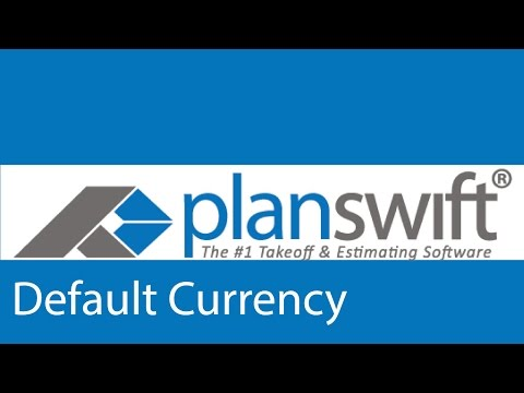 Default Currency Units
