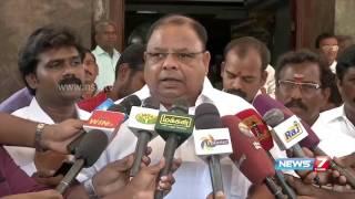 Announce Villivakkam constituency as sensitive says AIADMK's Vetrivel | News7 Tamil