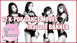 Baixar 12 K-POP Dance Moves That Are BANNED By The Korean Government [Part 1]