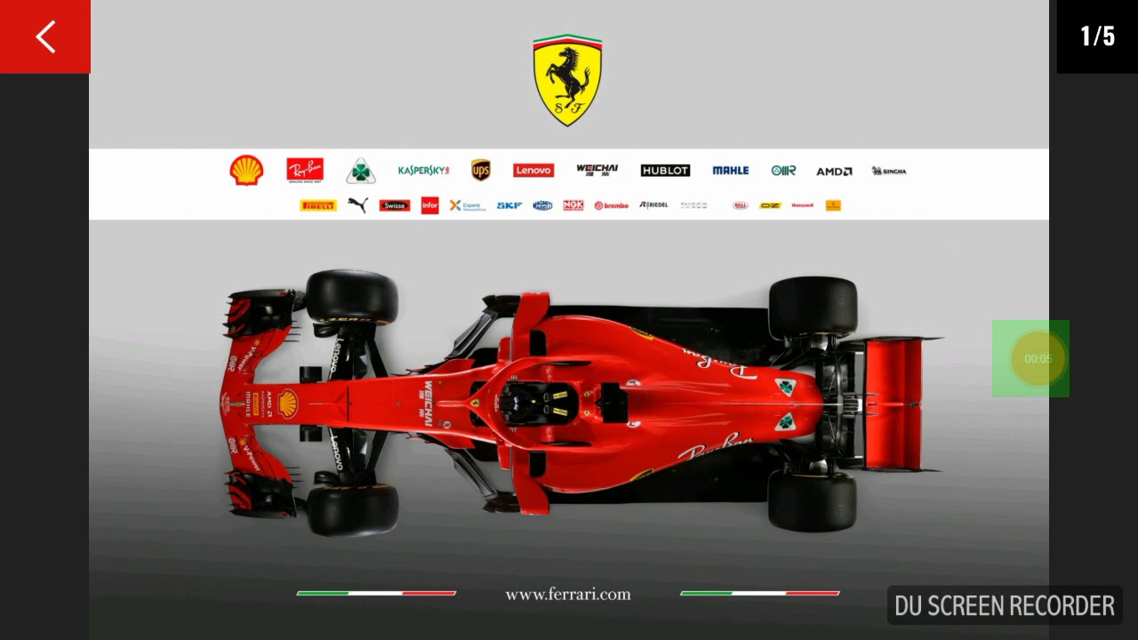 pr sentation f1 ferrari 2018 youtube. Black Bedroom Furniture Sets. Home Design Ideas