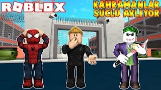 SPİDERMAN VE THORLA SUÇLULARI AVLADIK | Superhero Simulator | Roblox Türkçe