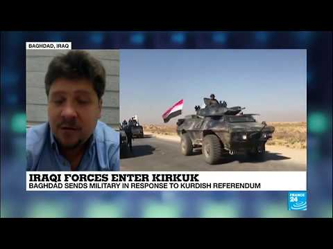 Battle Of Kirkuk; 'Very Surprising How Quickly Peshmerga Forces Withdrew From The Area'