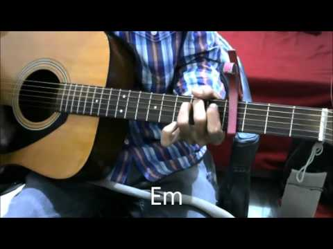 WoH Lamhe - Atif Aslam - SIMPLEST GUITAR LESSON OPEN CHORDS