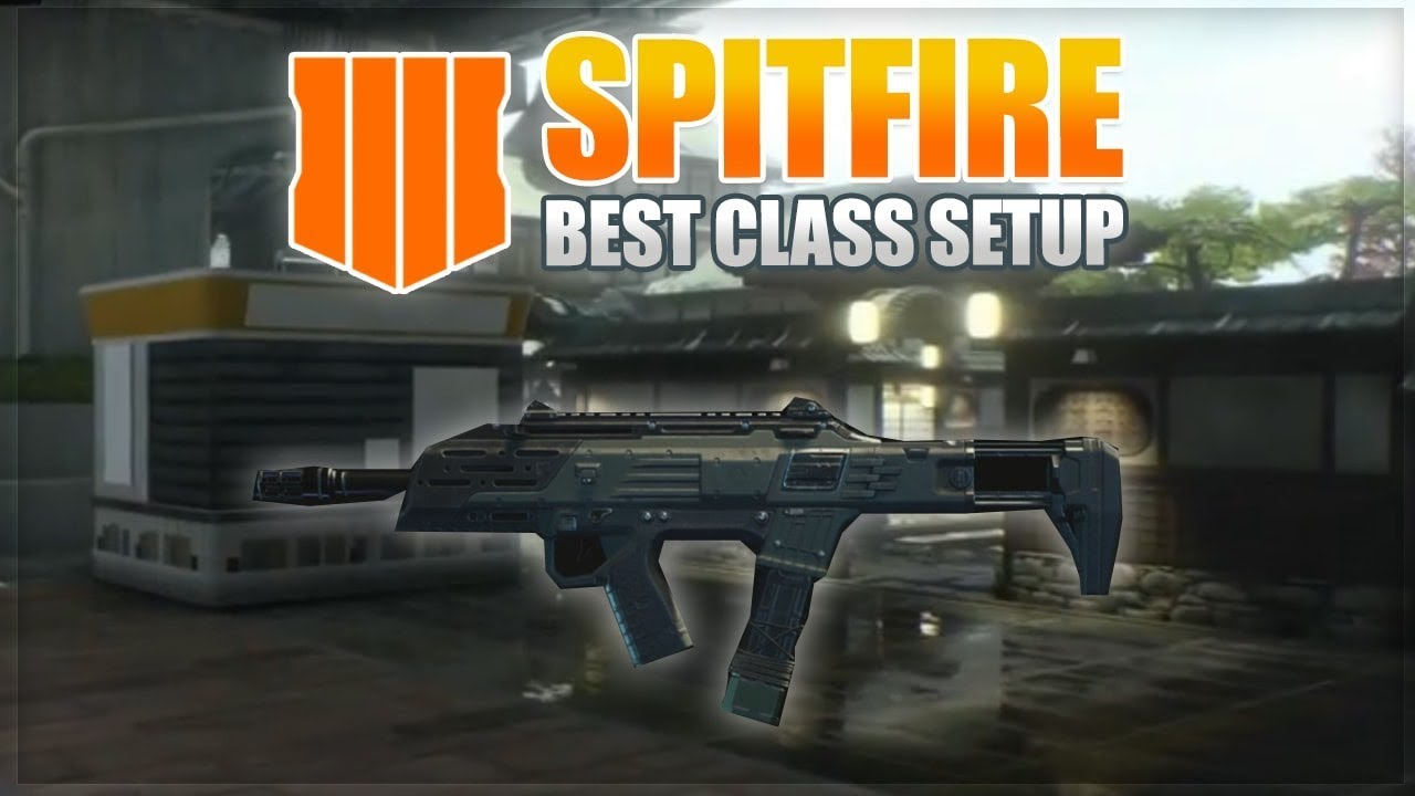 HOW TO MAKE THE SPITFIRE OVERPOWERED! OP GUN! BLACK OPS 4 BEST CLASS SETUP!  (BO4 TIPS AND TRICK)