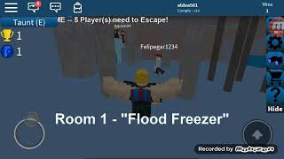 Watch out for water /flood escape (roblox)