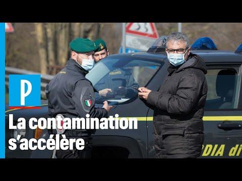 Coronavirus: barrages de police, carnaval annulé... L'Italie touchée de plein fouet