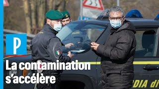 Coronavirus : barrages de police, carnaval annulé... L'Italie touchée de plein fouet
