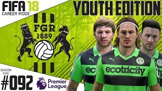 Fifa 18 Career Mode  - Youth Edition - Forest Green Rovers - EP 92