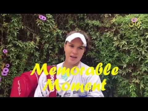 Skyler Grishuk Interviews ITF tennis player Dominique-Shaffer