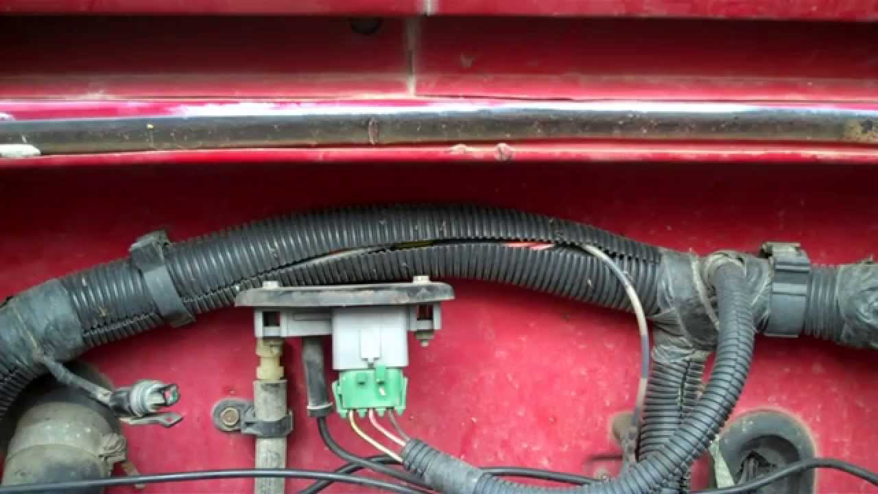 Jeep Wrangler Yj How To Test The Map Sensor Youtube Engine Diagram Starter