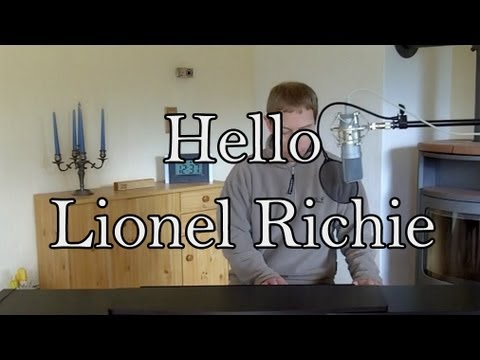Hello - Lionel Richie acoustic cover
