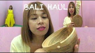 WHAT I GOT FROM BALI INDONESIA— CHEAPEST BALI HAUL 2019🇲🇨 VLOG #20