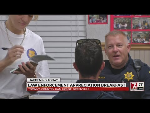 Law Enforcement Appreciation Breakfast