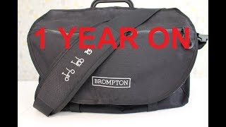 "1 YEAR ON: Brompton ""S"" Bag Review"