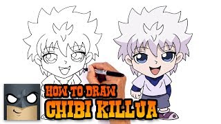 How to Draw Killua | Hunter x Hunter