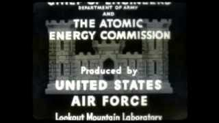 Rare Nuclear Test Film Operation Sandstone U.S. Army Engineers Video [FULL] Documentary