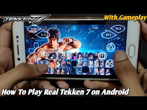 How To Play Real Tekken 7 On Android Without Emulator (offline) |Download Real Tekken 7 On Android