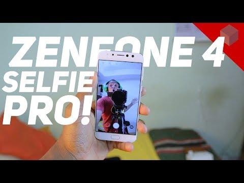 ASUS Zenfone 4 Selfie Pro Unboxing and Hands On