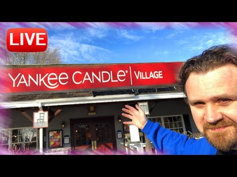 LIVE- From Yankee Candle Village Flagship for Semi Annual Sale - Come Shop With Me!
