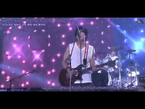 CNBLUE - I'm Sorry [LIVE] [Roman + Hangul + Sub Español]
