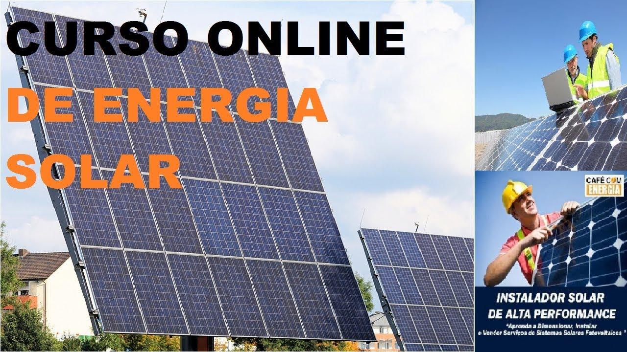 O Melhor Curso De Instalação De Energia Solar Para Instalador De Energia Solar Fotovoltaica