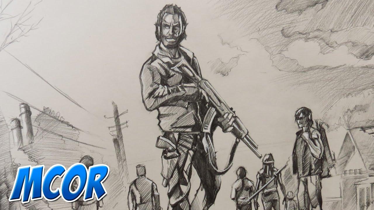 Boceteando The Walking Dead Temporada 5