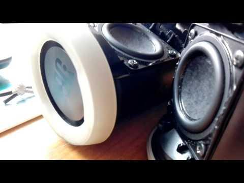 JBL Flip 3 double - bass test (disassembled)