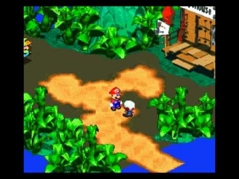 Super Monkey RPG (Super Mario RPG Hack) SNES