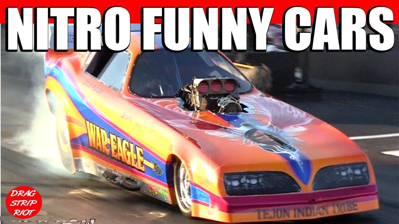2012 Nitro Nostalgia Funny Cars Drag Racing Maple Grove