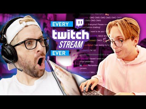 Every Twitch Stream Ever