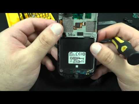 How to Disassemble Samsung Focus SGH-i917