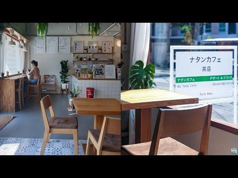 Natang CAFE - คาเฟ่ หน้าต่าง คาเฟ่เปิดใหม่ย่าน ม.เกษตร ร้านตกแต่งสไตล์ญี่ปุ่น