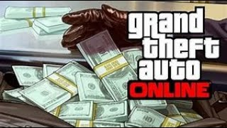 Grand Theft Auto V  ( GTA ONLINE ) How To Make Money.