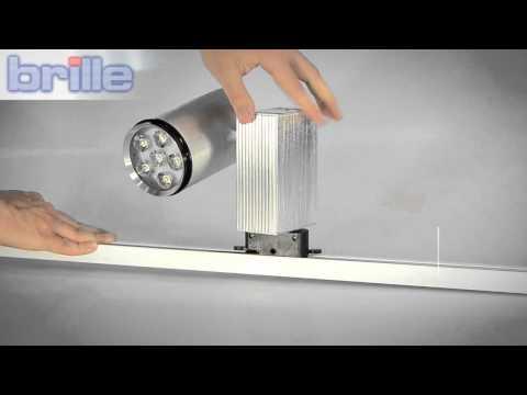 Видеообзор Светильник светодиодный трековый LED-205/6x3W NW SILVER