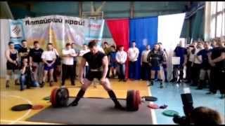 Карпов Юрий, Пауэрлифтинг, Вес 99.1, сумма 1015кг