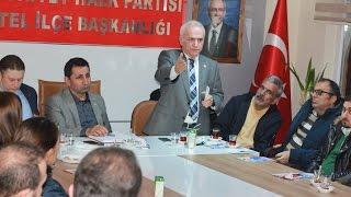 CHP Bursa Milletvekili A. Adayı Şahin GENÇAL'ın KESTEL İlçe Başkanlğı ziyareti