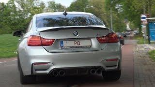 BMW M4 F82 Coupé Compilation - Revs, Brutal Accelerations, Launch & Exhaust SOUNDS!